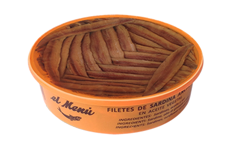 Filetes de sardina anchoada